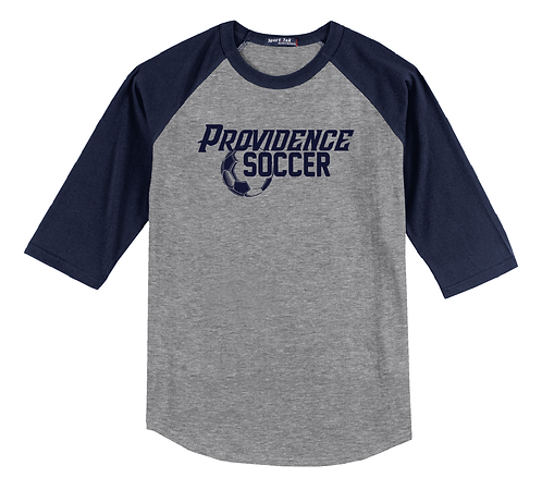 PHS Soccer Raglan T Shirt (T200)