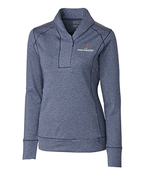 CB Ladies' Shoreline 1/2 Zip (LLH-LCK08663)