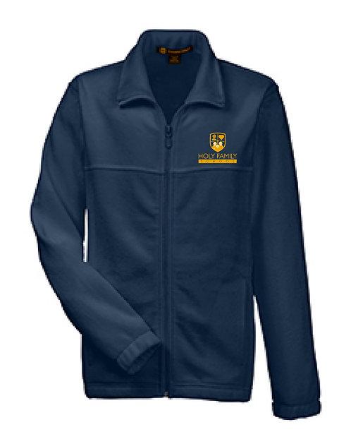 HFS Youth Full Zip Navy Fleece Jacket (HFS-M990Y)