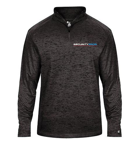 SecurityPros Men's Tonal Blend 1/4 Zip Sweatshirt (SP-4172)