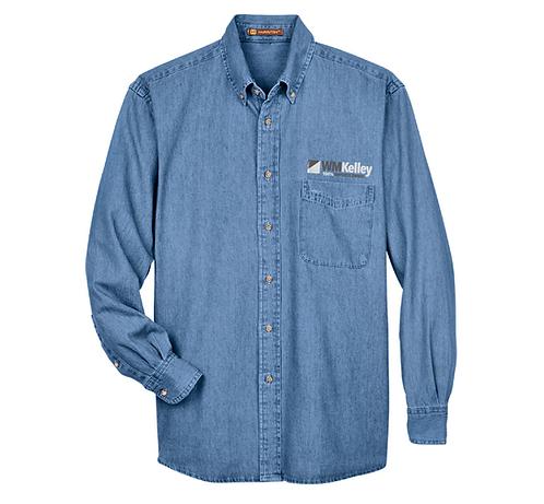Men's Harrington Denim Shirt (WMK-M550)