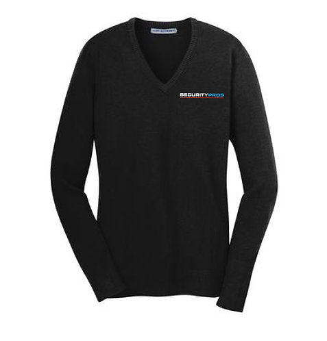 SecurityPros Women's V-Neck Sweater (SP-LSW285)