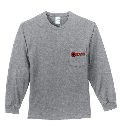 Ryan Transportation LS Pocket Tee (RT-PC61LSP)