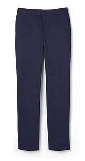 Boy's Flat Front, Adj. Waist Pant (Boy's Slim)