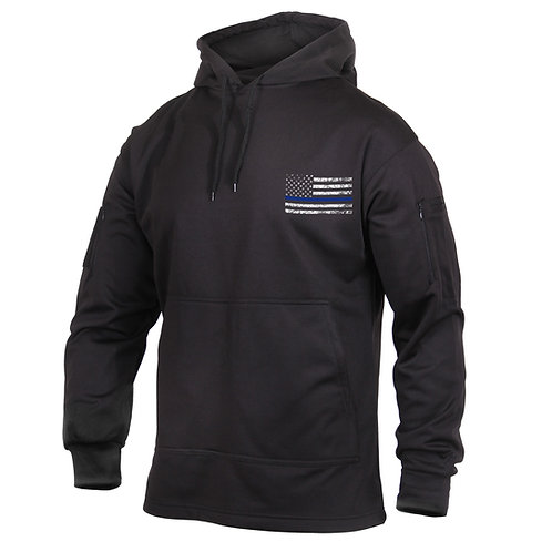 Thin Blue Line Concealed Carry Hoodie (RCW-52071)