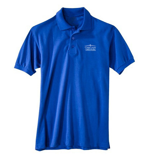 OLPH Adult Dry Fit Polo Short Sleeve – 5th - 8th Grade Only (58604B)