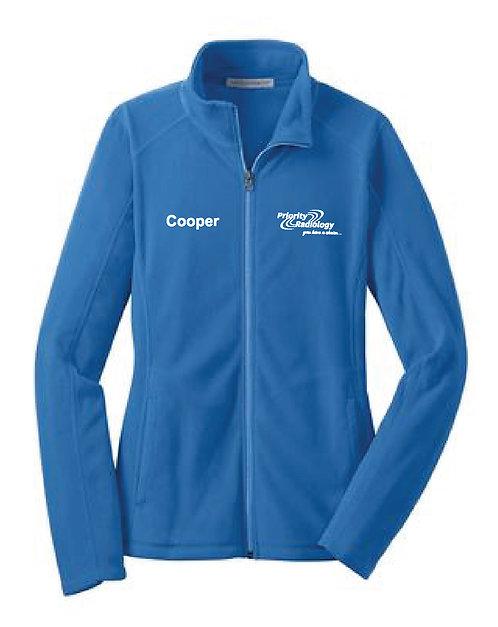 P.R. Custom Name Women's Port Authority Microfleece Jacket (PR-L223C)