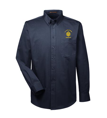 USNA Men's Woven Long Sleeve Shirt (USNA-M581)