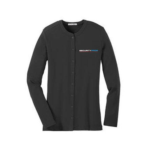SecurityPros Women's Cardigan Sweater (SP-LM1008)