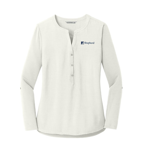 PA Ladies' Concept Henley Tunic (S-LK5432)