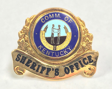 Sheriff's Office Hat Badge