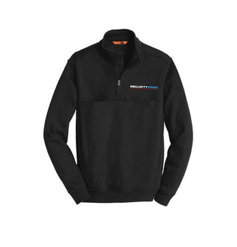 SecurityPros 1/2 Zip Sweatshirt - Black (SP-CS626)
