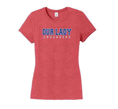 Our Lady Crusaders Ladies' District Perfect Tee (OLPH-DM130L-P)