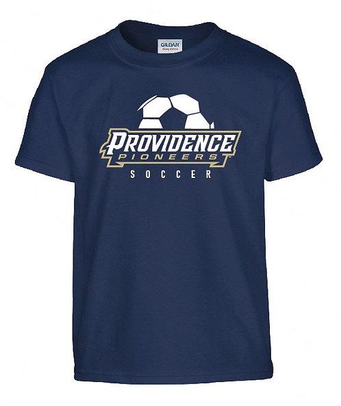 PHS Boys Soccer Unisex Tee - Navy