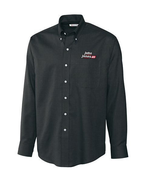 CB Men's Long Sleeve Epic Easy Care Nailshead Button Down (JJAG - MCW01711)