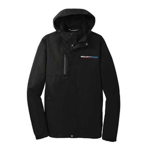 SecurityPros Men's All Conditions Jacket - Black (SP-J331)