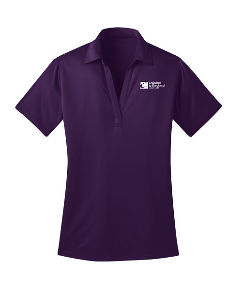 PA Ladies' Silk Touch Performance Polo (C-L540)