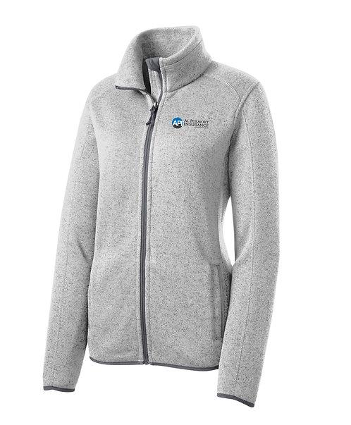 PA Ladies' Sweater Fleece Jacket (API-L232)