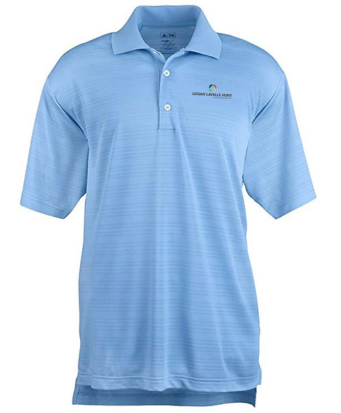 Adidas Men's Climalite Textured SS Polo (LLH-A161)