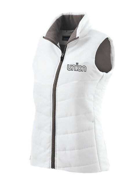 Ladies Union Logo Holloway Vest (UV-229314)