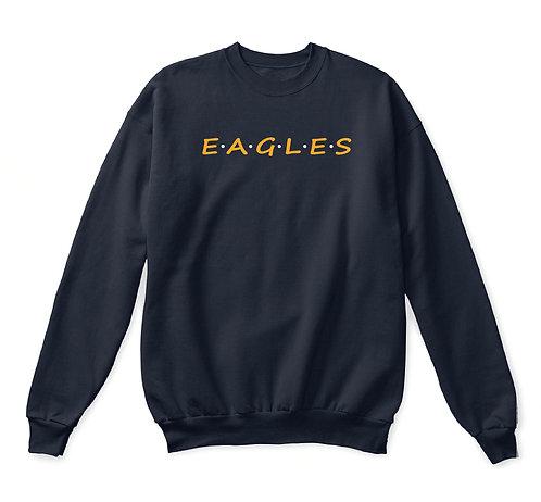 EAGLES Adult Spirit Crewneck Sweatshirt (HFS-18000)