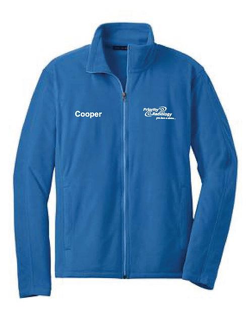 P.R. Custom Name Men's Port Authority Microfleece Jacket (PR-F223C)