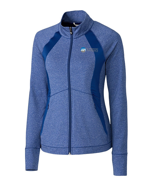 CB Ladies' Shoreline Colorblock Full Zip (API-LCK00018)