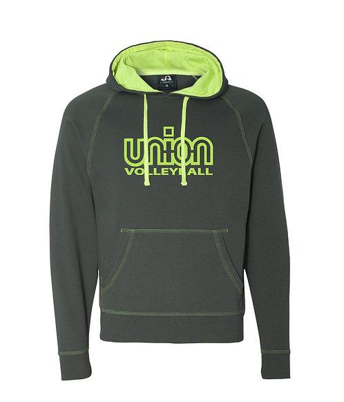 Union Logo Shadow Hooded Fleece (UV-JA8883)