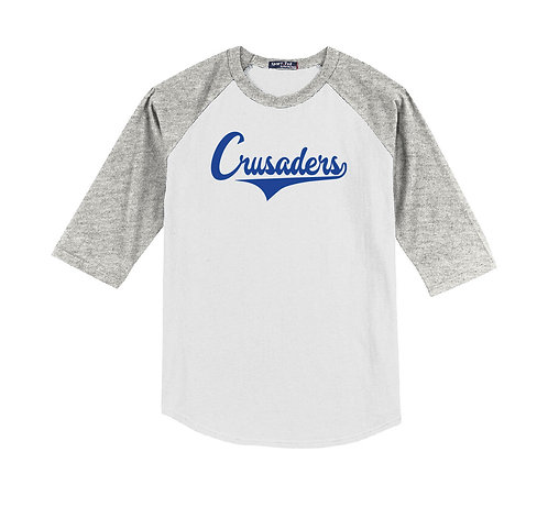 Our Lady Crusaders Youth Raglan Tee (OLPH-YT200-P)