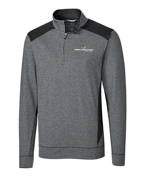 CB Men's Shoreline Colorblock 1/2 Zip (LLH-MCK09423)