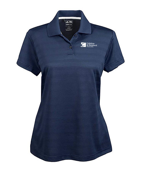 Adidas Ladies' Climalite Textured SS Polo (C-A162)
