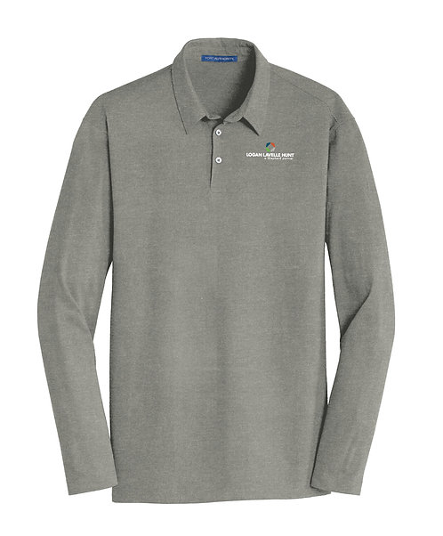 PA Men's Meridian Cotton Blend L/S Polo (LLH-K577LS)