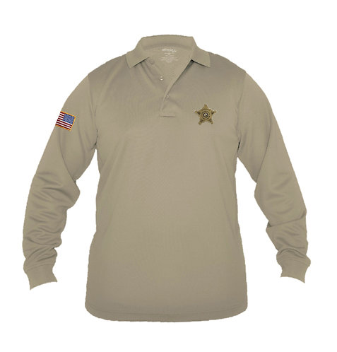 Ladies' Elbeco UFX Tactical L/S Polo (JCSO-K5182)