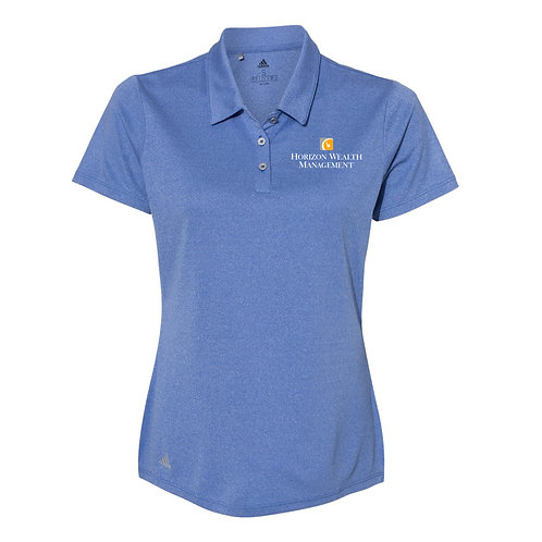 Adidas Women's Heathered Sport Polo (MS-A241)