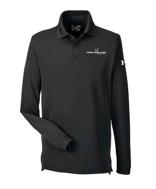 Under Armour Men's Performance LS Polo (LLH-1283708)