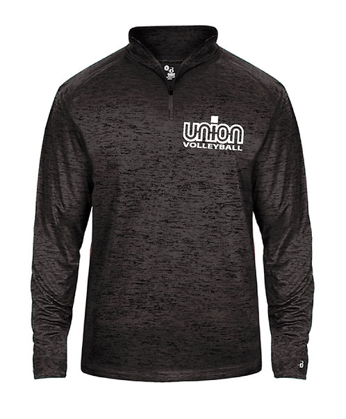 Union Logo Badger ¼ Zip (UV-4172)