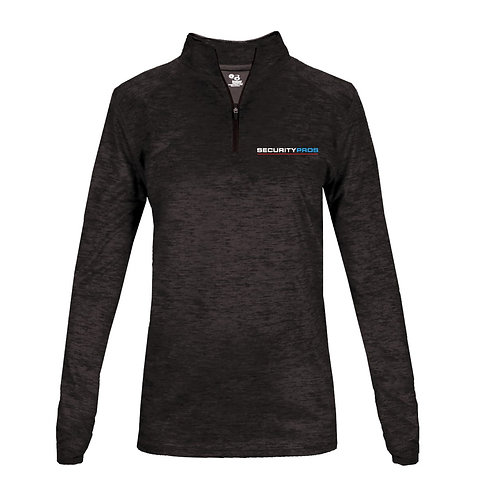 SecurityPros Women's Tonal Blend 1/4 Zip Sweatshirt (SP-4173)