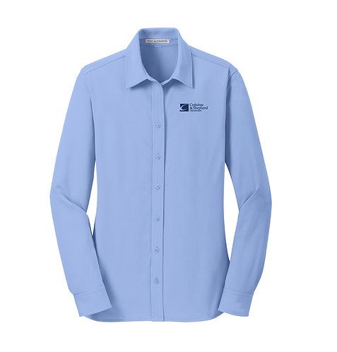 PA Ladies Dimension Knit Dress Shirt (C-L570)
