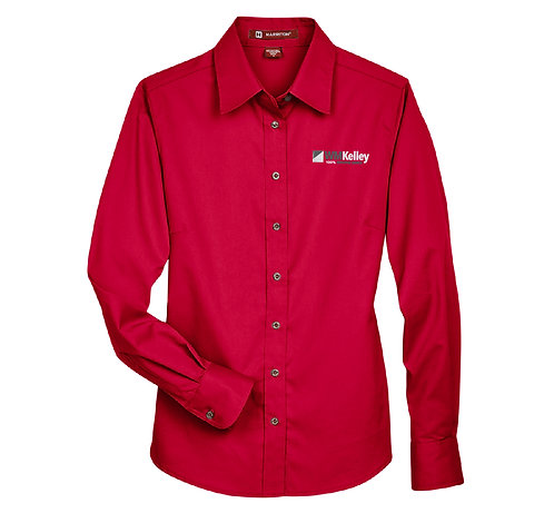 Ladies' Harrington Twill Shirt (WMK-M500W)