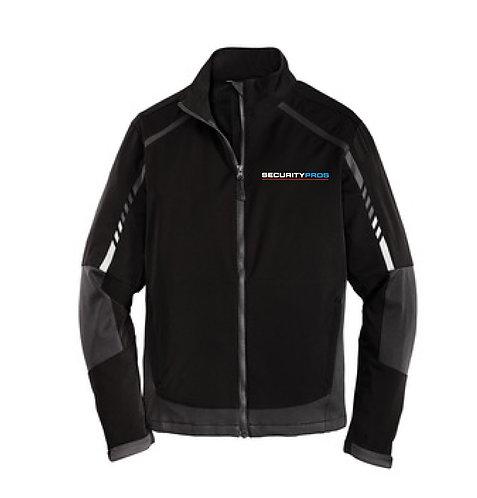 SecurityPros Men's Embark Soft Shell Jacket - Black (SP-J307)