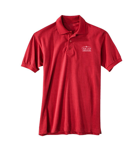 OLPH Youth Dry Fit Polo Short Sleeve – K - 4th Grade Only