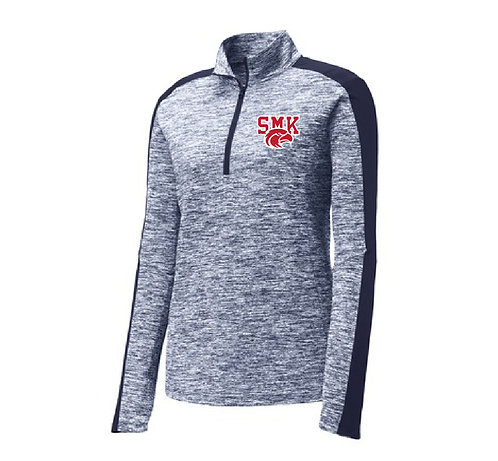 SMK Ladies' PosiCharge 1/4 Zip Pullover (SMK-LST397)