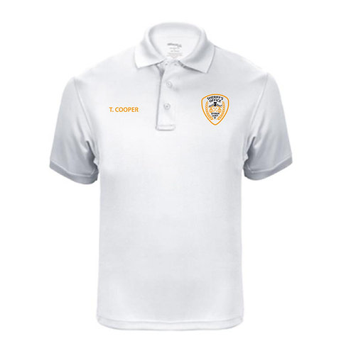 UFX Tactical Ladies' SS White Polo (JCSO-K5170LC)