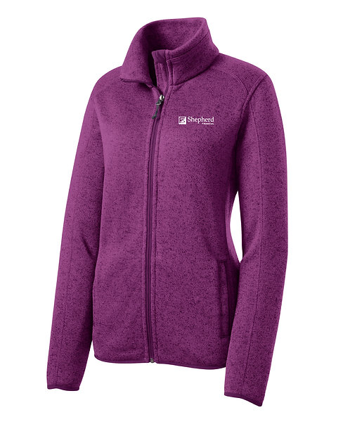 PA Ladies' Sweater Fleece Jacket (SF-L232)