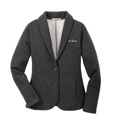 PA Ladies' Fleece Blazer (LLH-L298)