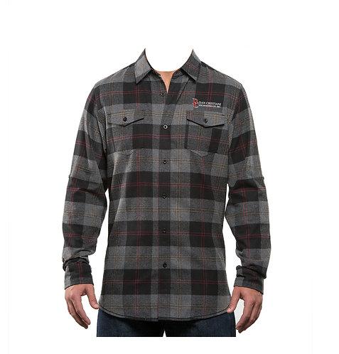 Burnside Men's Plaid Flannel Shirt (DC - B8210)