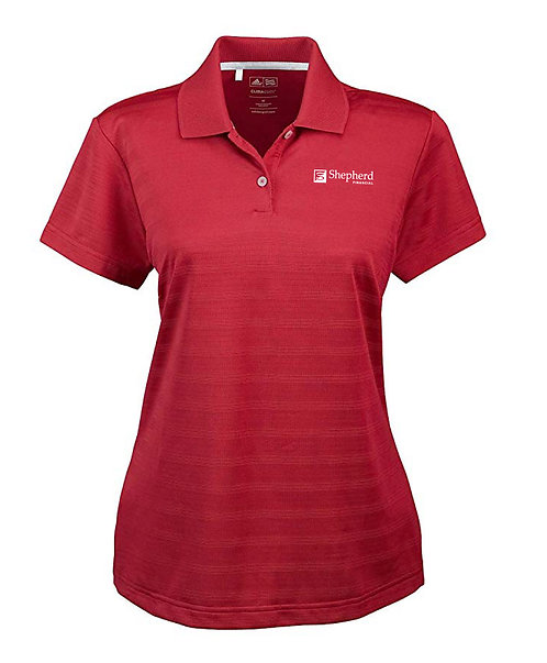 Adidas Ladies' Climalite Textured SS Polo (SF-A162)