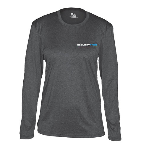 SecurityPros Men's Pro Heather L/S Tee (SP-4304)