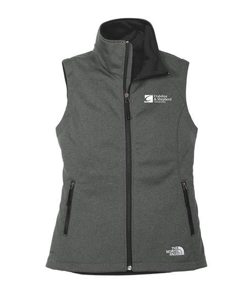 North Face Ladies' Ridgeline Soft Shell Vest (C-NF0A3LH1)