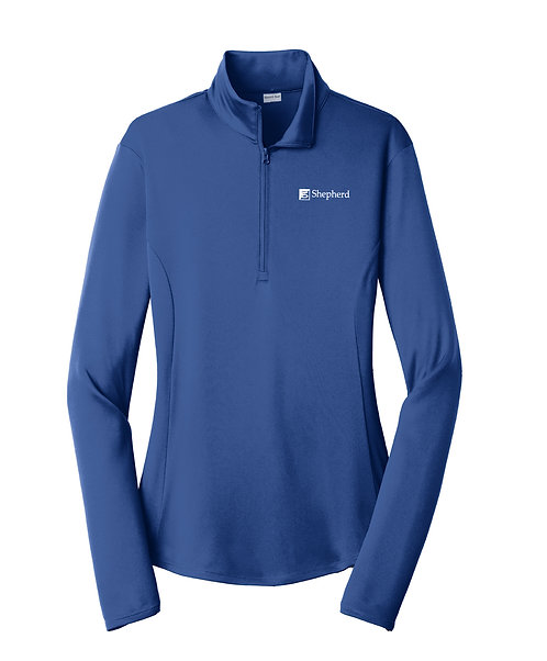 ST Ladies PosiCharge Competitor 1/4-Zip Pullover (S-LST357)